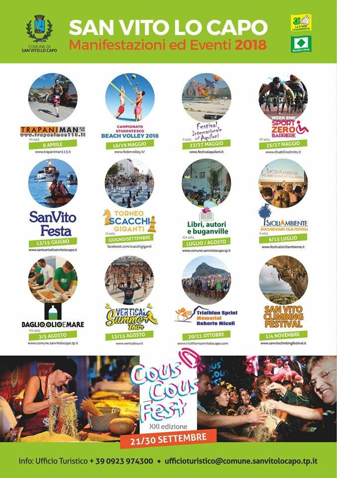eventi a San Vito Lo Capo 2018 - Abbadia Affittacamere